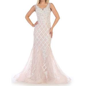 Mauve Evening Formal Red Carpet Sweet 16 Dress NWT